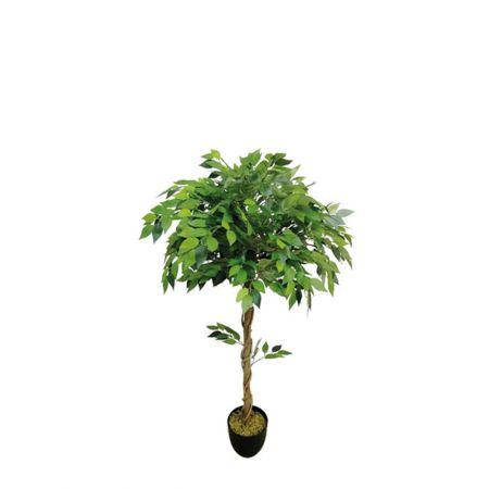 Τεχνητό δέντρο φίκος - Benjamini πράσινος σε γλάστρα 120cm