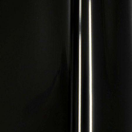 Διακοσμητικό ρολό foil γυαλιστερό Μαύρο 10m x130cm