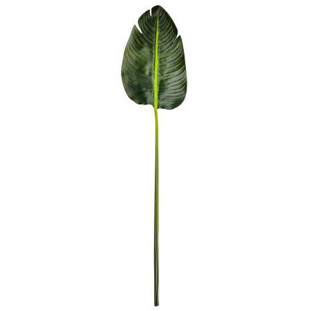 Διακοσμητικό Φύλλο μπανανιάς Πράσινο 75cm