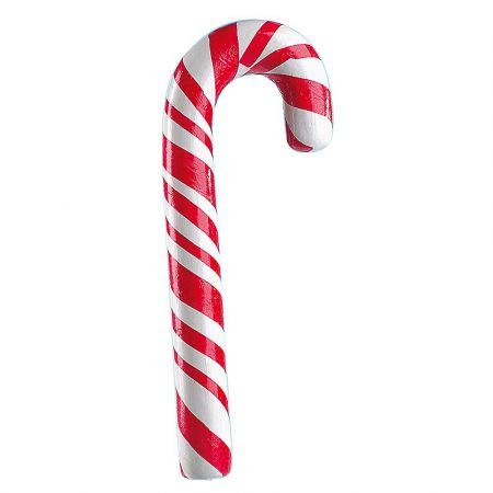 XXL Διακοσμητικό γλειφιτζούρι μπαστούνι Κόκκινο - Λευκό 60cm