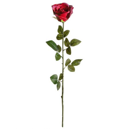 Διακοσμητικό υφασμάτινο τριαντάφυλλο 74cm (Ύψος)