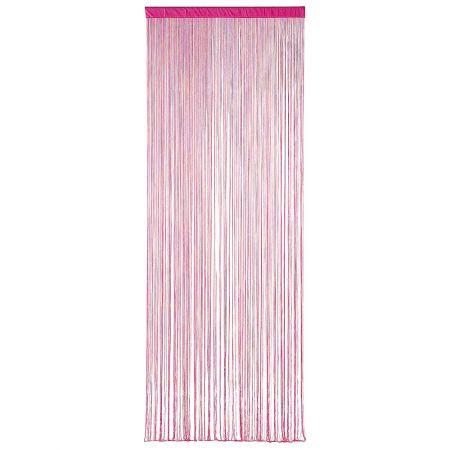 Διακοσμητική κουρτίνα κρόσσι Φούξια 100x200cm