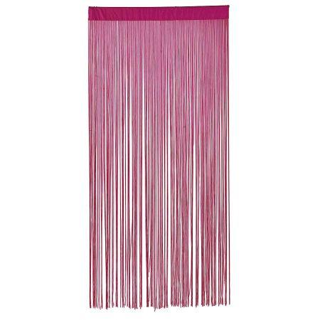 Διακοσμητική κουρτίνα κρόσσι Ροζ 100x200cm