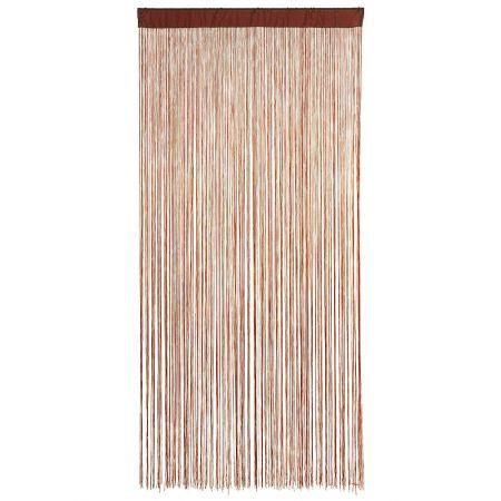 Διακοσμητική κουρτίνα κρόσσι Μπορντό 100x200cm