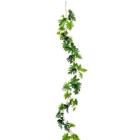Διακοσμητική καλοκαιρινή γιρλάντα με φύλλα 180cm