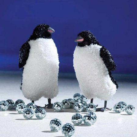 Σετ 2τχ  Διακοσμητικοί πιγκουίνοι 20cm