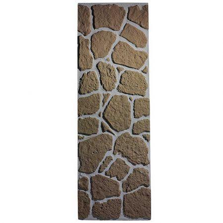 Διακοσμητικό πάνελ - πέτρινος τοίχος Γκρι - Καφέ 150x50cm