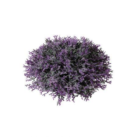 Διακοσμητική μισή μπάλα Λεβάντα - Βρύα, 18cm
