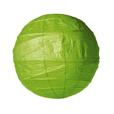 Διακοσμητικό φανάρι - μπάλα Πράσινο 90cm