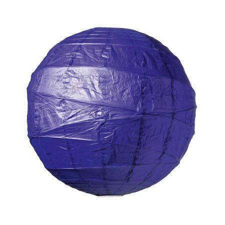 Διακοσμητικό φανάρι - μπάλα Μπλε 90cm