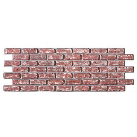 Διακοσμητικό πάνελ - τοίχος με τούβλα Κόκκινο 150x50cm