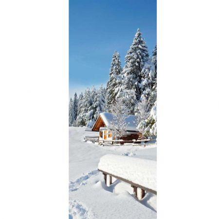 Διακοσμητική χειμωνιάτικη αφίσα 100x250cm