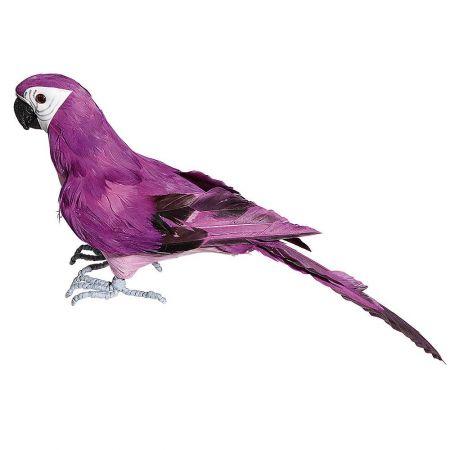Διακοσμητικός παπαγάλος Μώβ 36cm