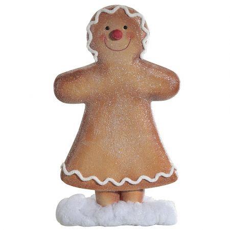 Διακοσμητικό gingerbread - μπισκότο κοριτσάκι 59cm