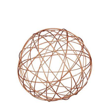 Διακοσμητική μεταλλική τρισδιάστατη μπάλα 30 cm