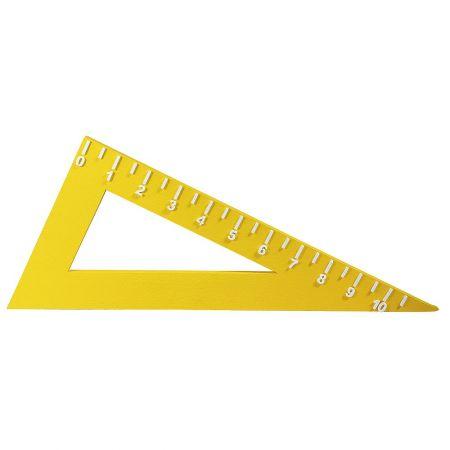 Διακοσμητικό σχολικό τρίγωνο, 120x60 cm