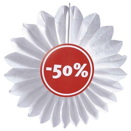 Διακοσμητική ροζέτα εκπτώσεων 50% 67cm
