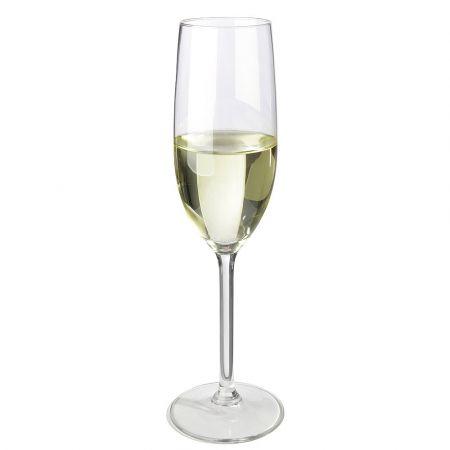 Διακοσμητικό ποτήρι με Σαμπάνια  - απομίμηση 24x5cm