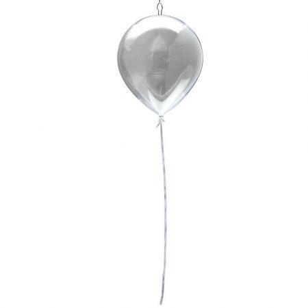 Διακοσμητικό πλαστικό διάφανο μπαλόνι 28cm