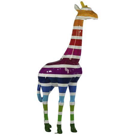 Διακοσμητική πολύχρωμη καμηλοπάρδαλη 195x100 cm