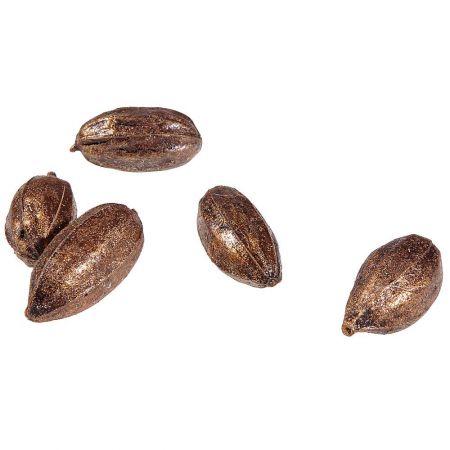 Σετ 33τχ Διακοσμητικά καρύδια Χάλκινα 4-8cm