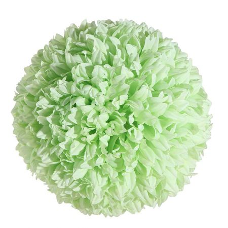 Διακοσμητική μπάλα - Pom Pom Πράσινη 25cm