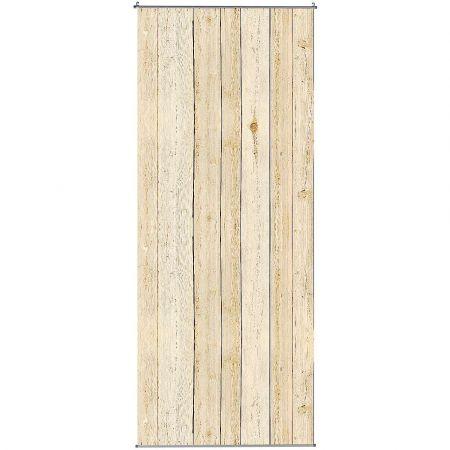 Διακοσμητική αφίσα υφασμάτινη με ξύλινο τοίχο 100x250cm