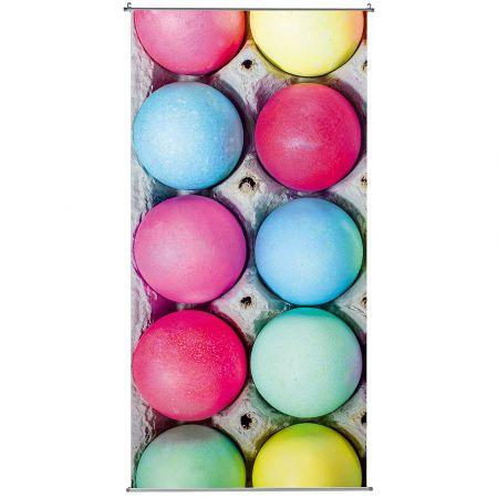 Διακοσμητική αφίσα - Banner με Πασχαλινά αυγά 100x200cm
