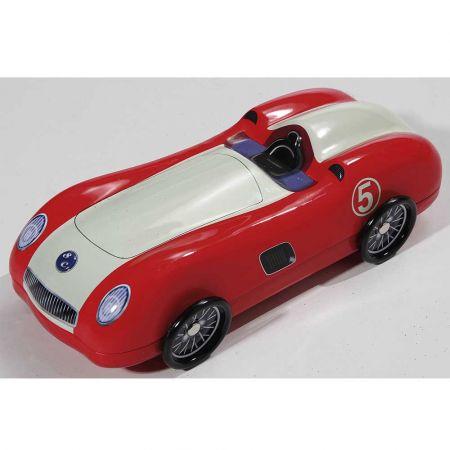 Διακοσμητικό μεταλλικό κουτί - αυτοκίνητο Κόκκινο 27x12x8cm