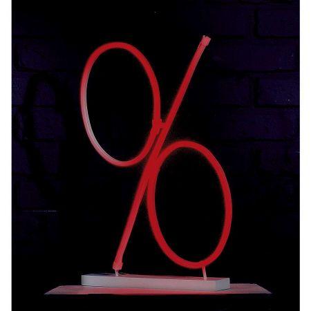 Επιγραφή % LED Neon IP20 50x30cm