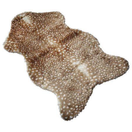 Διακοσμητικό χαλί - συνθετικό δέρμα ελαφιού 90x50cm