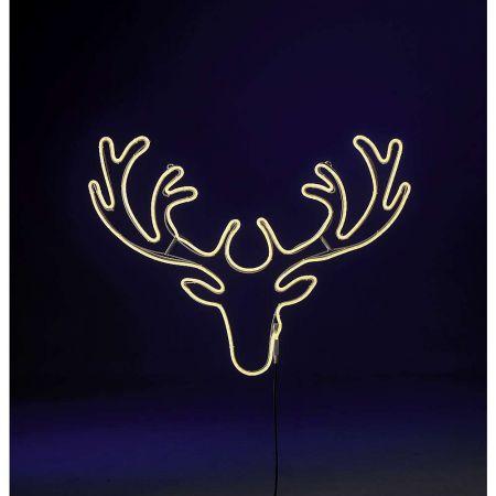 Τάρανδος LED Neon IP44 49x56cm