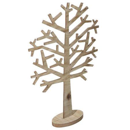 Διακοσμητικό αφαιρετικό δέντρο ξύλινο 78x53cm