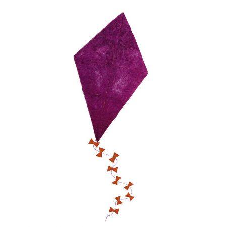 Διακοσμητικός χαρταετός σιζάλ Φούξια 130x75cm