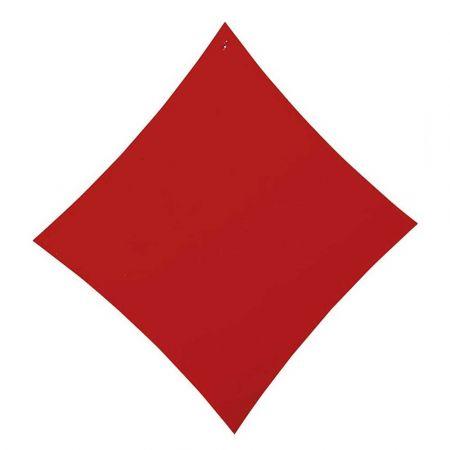 Διακοσμητικό σήμα τράπουλας - Καρό Κόκκινο 50x47cm