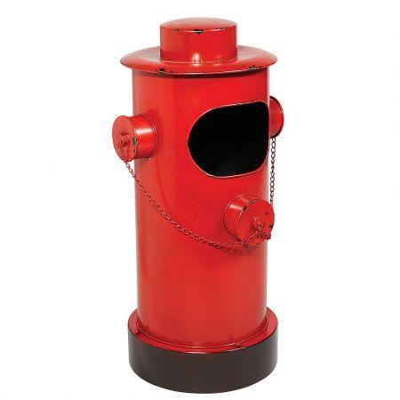 Διακοσμητικός μεταλλικός πυροσβεστικός κρουνός Κόκκινος 78x40cm