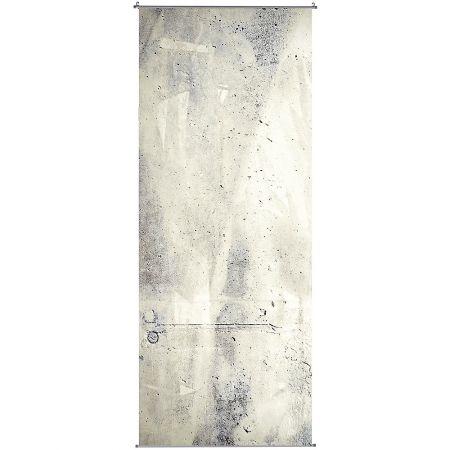 """Υφασμάτινο πανό 250εκ """"Concrete Wall"""" γκρι"""