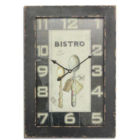 Διακοσμητικό Ρολόι Τοίχου 40x58cm