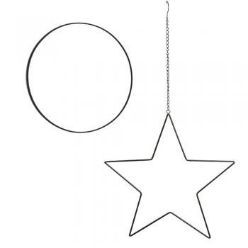 Μεταλλικά Αστέρια - Κύκλοι