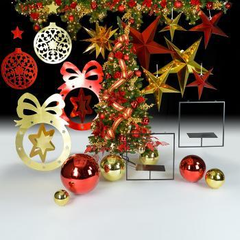 Χριστούγεννα σε Κόκκινο - Χρυσό