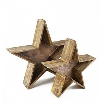 Ξύλινα Δέντρα - Αστέρια