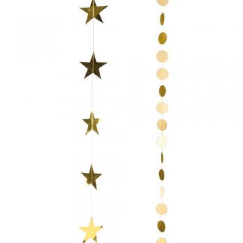 Γιρλάντες αστέρια - κύκλοι