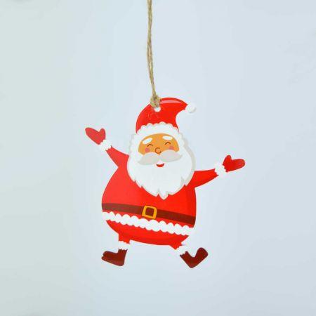Χριστουγεννιάτικο στολίδι-Άγιος Βασίλης 12cm
