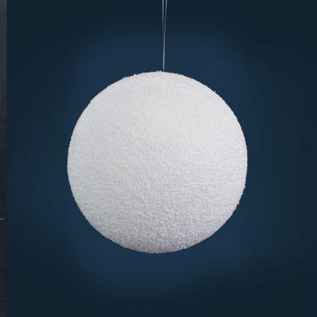 Χριστουγεννιάτικη κρεμαστή χιονόμπαλα 25cm
