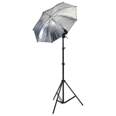 Φωτιστικό Studio με ομπρέλα αντανάκλασης σε τρίποδο 220cm