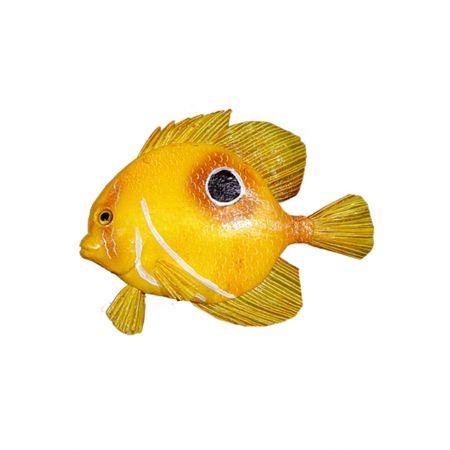 Διακοσμητικό ψάρι Κίτρινο 22x19cm