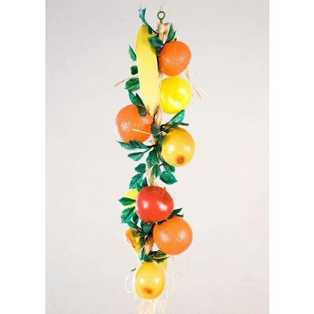 Διακοσμητική πλεξούδα με φρούτα 50cm