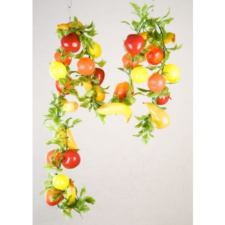 Διακοσμητική γιρλάντα με διάφορα φρούτα 200cm