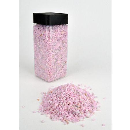 Συσκευασία 550ml Διακοσμητικό χαλίκι χρωματιστό Ροζ 2-3mm