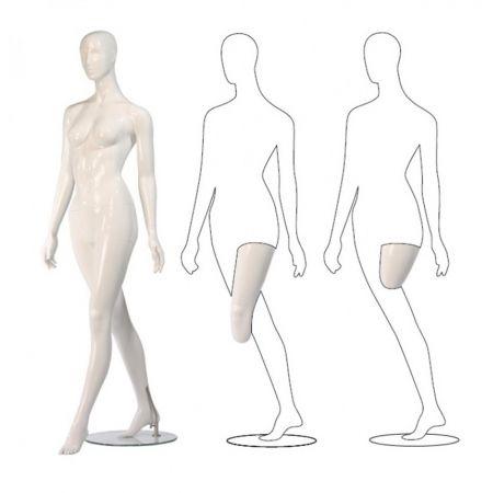 Γυναικεία Κούκλα Βιτρίνας με Αφαιρετικό Κεφάλι 179cm